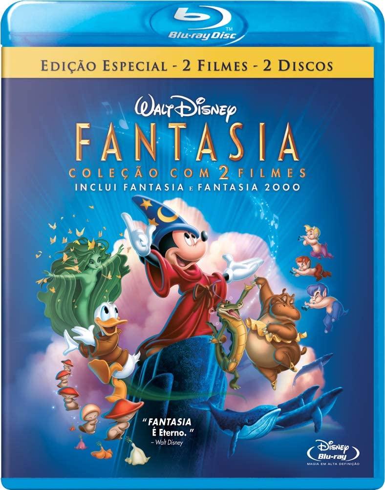 FANTASIA COLEÇÃO 2 FILMES BLU RAY