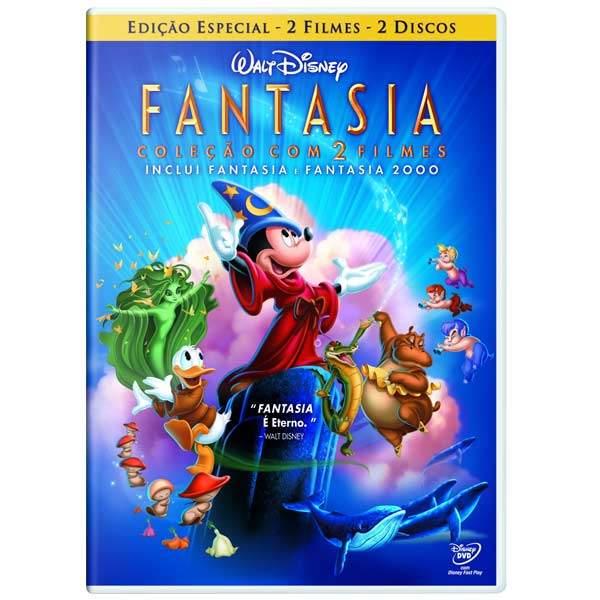 FANTASIA COLEÇÃO COM 2 FILMES DVD