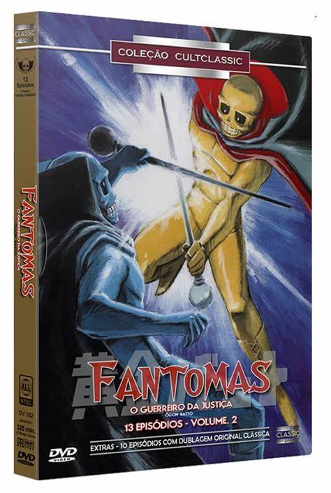 FANTOMAS O GUERREIRO DA JUSTIÇA VOL 2 DVD