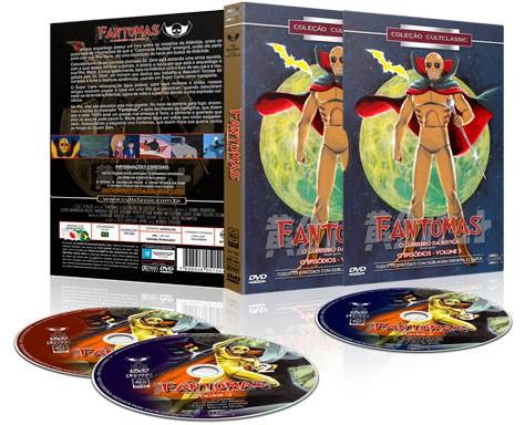 FANTOMAS O GUERREIRO DA JUSTIÇA VOL 3 DVD