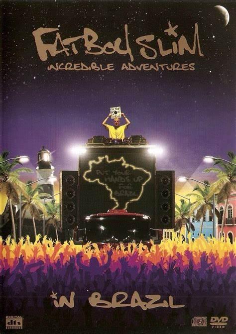 FATBOYSLIM INCREDIBLE ADVENTURES IN BRAZIL DVD