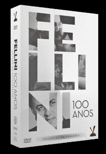 FELLINI 100 ANOS DVD