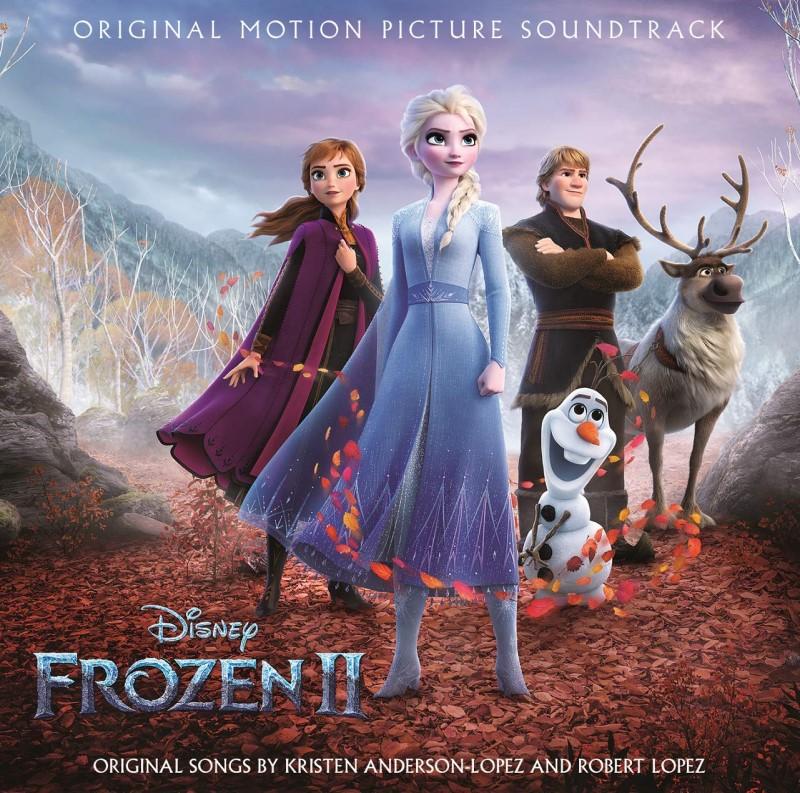 FROZEN  2 TRILHA SONORA ORIGINAL DO FILME CD