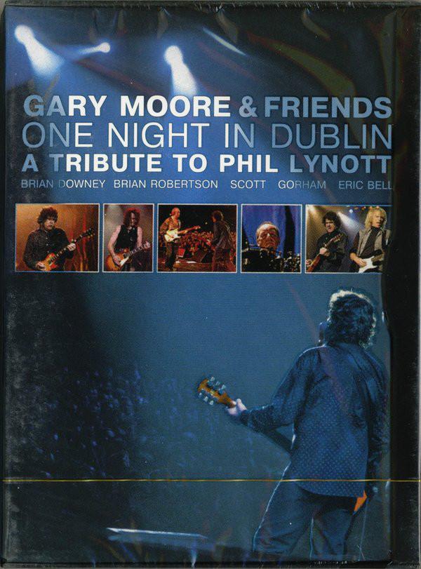 GARY MOORE & FRIENDS ONE NIGHT IN DUBLIN DVD