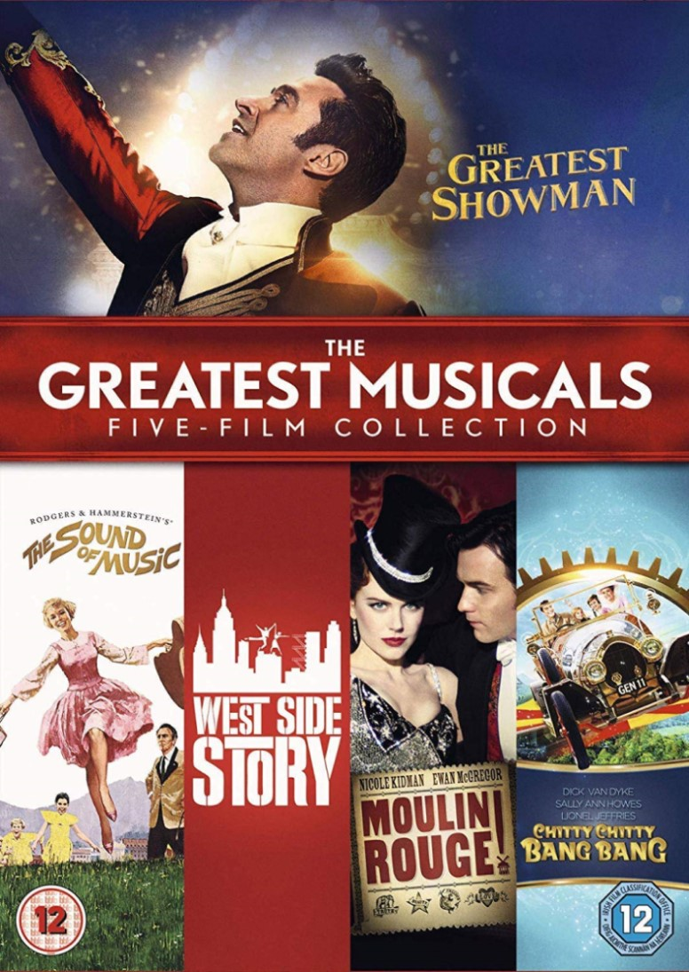 GREATEST MUSICALS FIVE FILM COLLECTION DVD