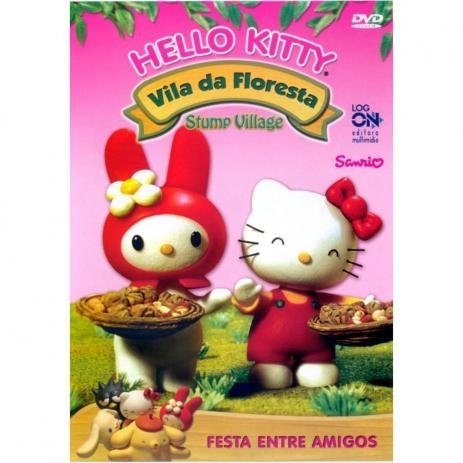 HELLO KITTY VILA DA FLORESTA FESTA ENTRE AMIGOS DVD