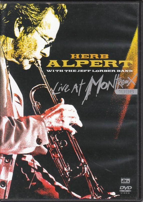 HERB ALPERT LIVE AT MONTREUX 1996 DVD