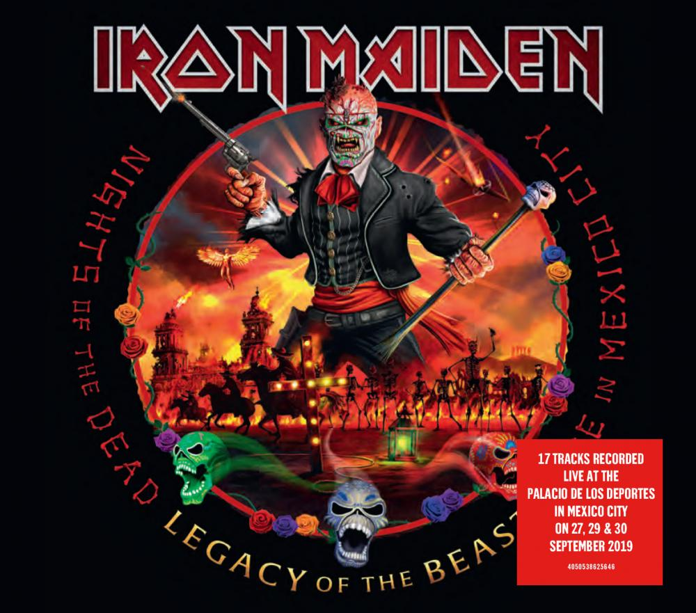 IRON MAIDEN NIGHTS OF THE DEAD LEGACY OF THE BEAST