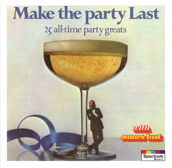 JAMES LAST MAKE THE PARTY LAST CD