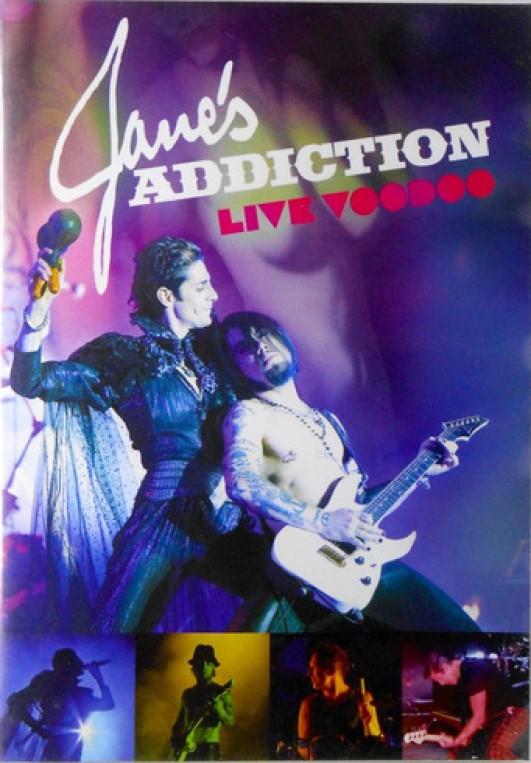 JANES ADDICTION LIVE VOODOO DVD