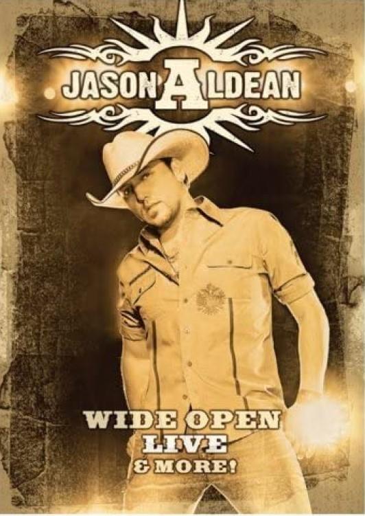JASON ALDEAN WIDE OPEN LIVE & MORE DVD