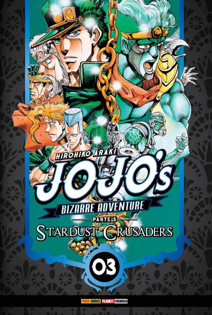 JOJOS BIZARRE ADVENTURE PARTE 3 STARDUST CRUSADERS VOL 3