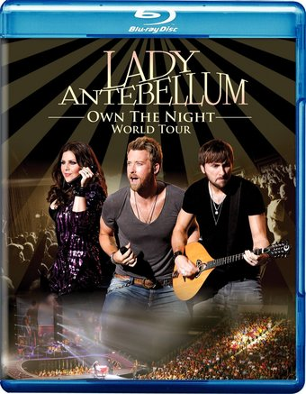 LADY ANTEBELLUM OWN THE NIGHT BLU RAY