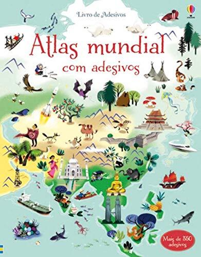 LIVRO DE ADESIVOS. ATLAS MUNDIAL