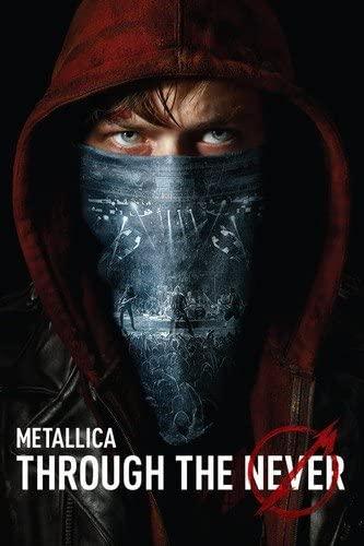 METALLICA THROUGH THE NEVER  DVD