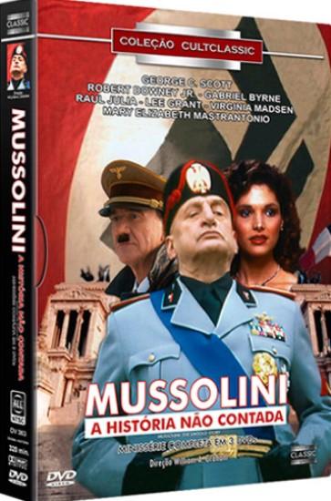 MUSSOLINI A HISTORIA NAO CONTADA MINISSERIE COMPLETA EM 3 DVDS