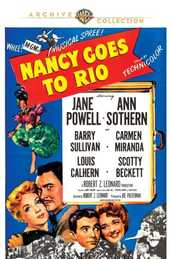 NANCY GOES TO RIO DVD