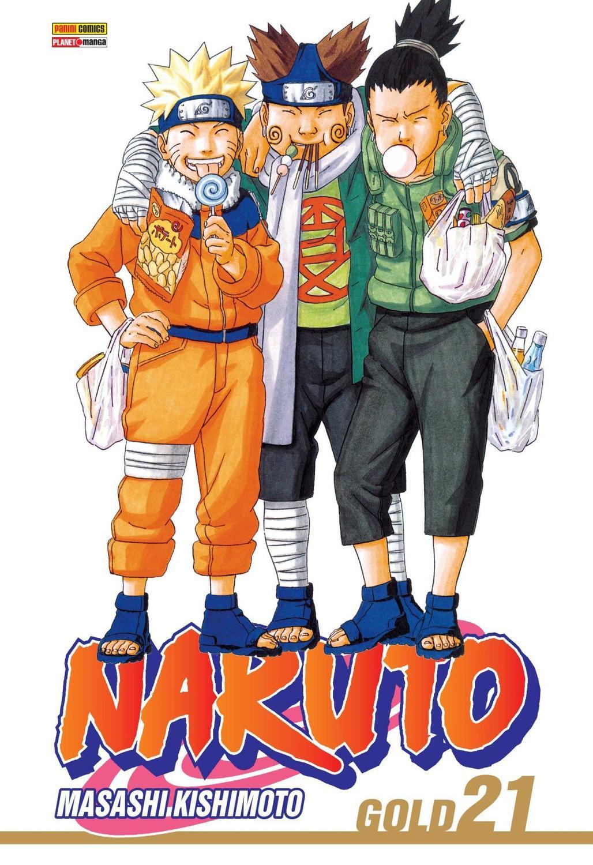 NARUTO GOLD 21