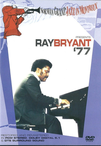 NORMAN GRANZ JAZZ IN MONTREUX RAY BRYANT 77 DVD