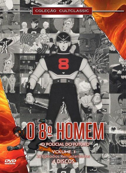 O 8º HOMEM O POLICIAL DO FUTURO VOL 1 DVD
