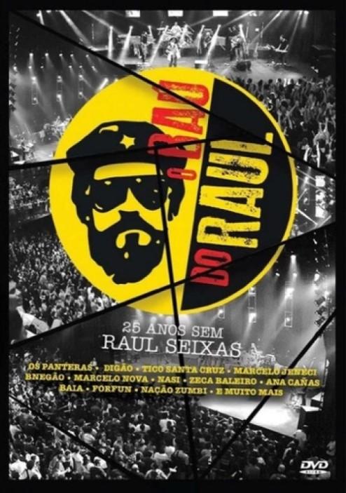 O BAU DO RAUL 25 ANOS  SEM RAUL DVD