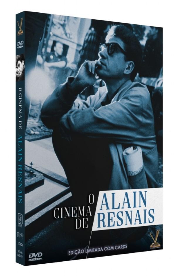 O CINEMA DE ALAIN RESNAIS DVD