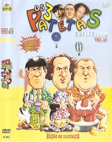 OS 3 PATETAS DESENHO EDIÇAO COLECIONADOR VOL. 2  DVD