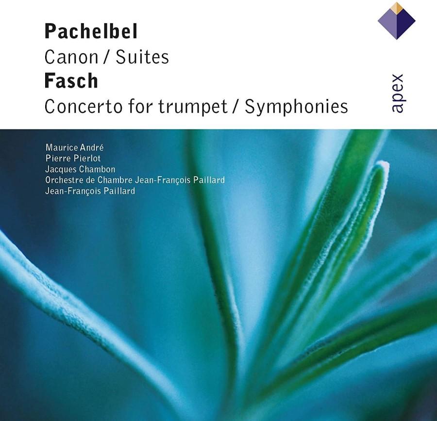 PACHELBEL CANON / SUITES FASCH CONCERTO FOR TRUMPET / SYMPHONIES CD