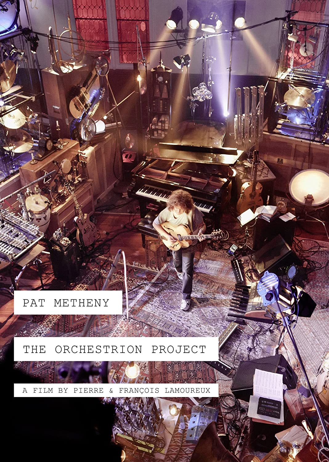 PAT METHENY THE ORCHESTRION PROJECT DVD
