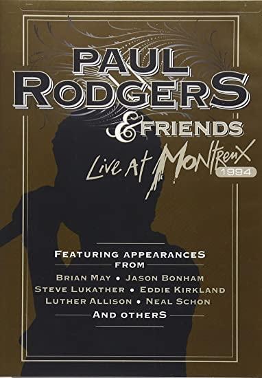 PAUL RODGERS & FRIENDS LIVE AT MONTREUX 1994 DVD
