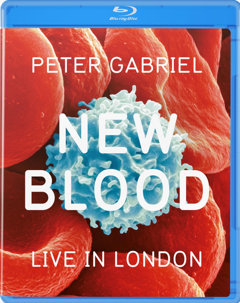 PETER GABRIEL NEW BLOOD LIVE IN LONDON BLU RAY