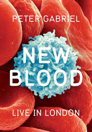 PETER GABRIEL NEW BLOOD LIVE IN LONDON DVD