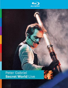 PETER GABRIEL SECRET WORLD BLU RAY