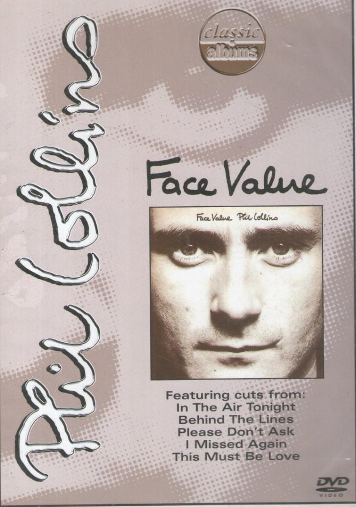 PHIL COLLINS FACE VALUE DVD