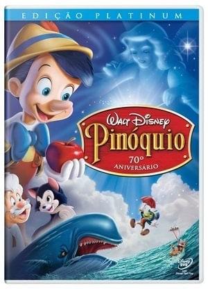 PINOQUIO EDIÇÃO PLATINUM DVD