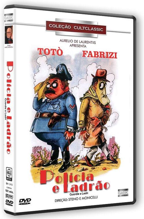 POLICIA E LADRÃO DVD