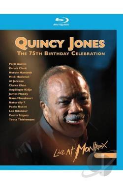 QUINCY JONES THE 75TH BIRTHDAY CELEBRATION BLU RAY