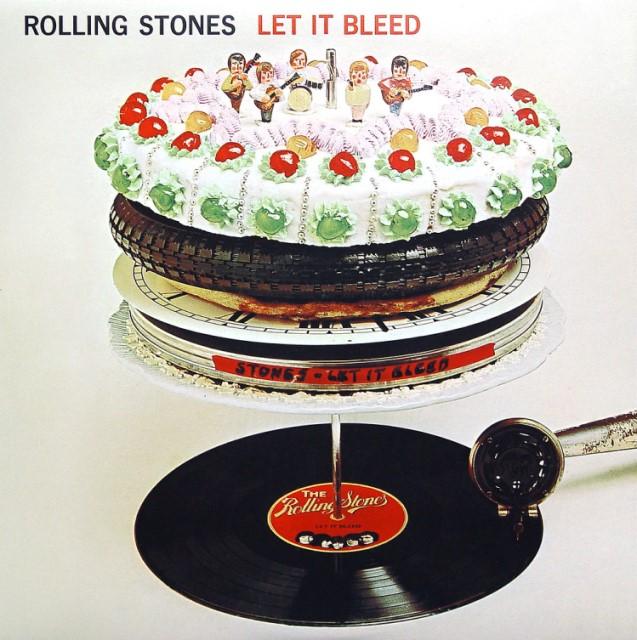 ROLLING STONES LET IT BLEED CD