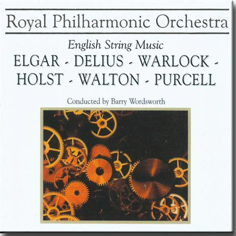 ROYAL PHILHARMONIC ORCHESTRA  ELGAR, DELIUS, WARLOCK, HOLST, WALTON, PURCELL CD