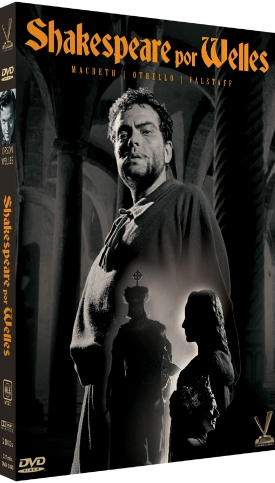 SHAKESPEARE POR WELLES DVD