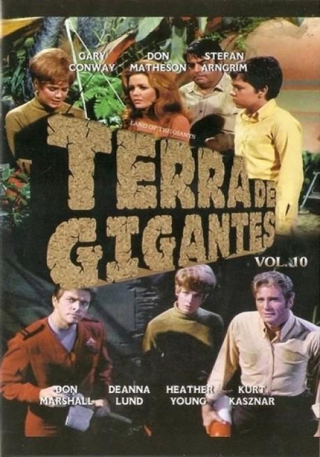 TERRA DE GIGANTES VOL. 10 DVD