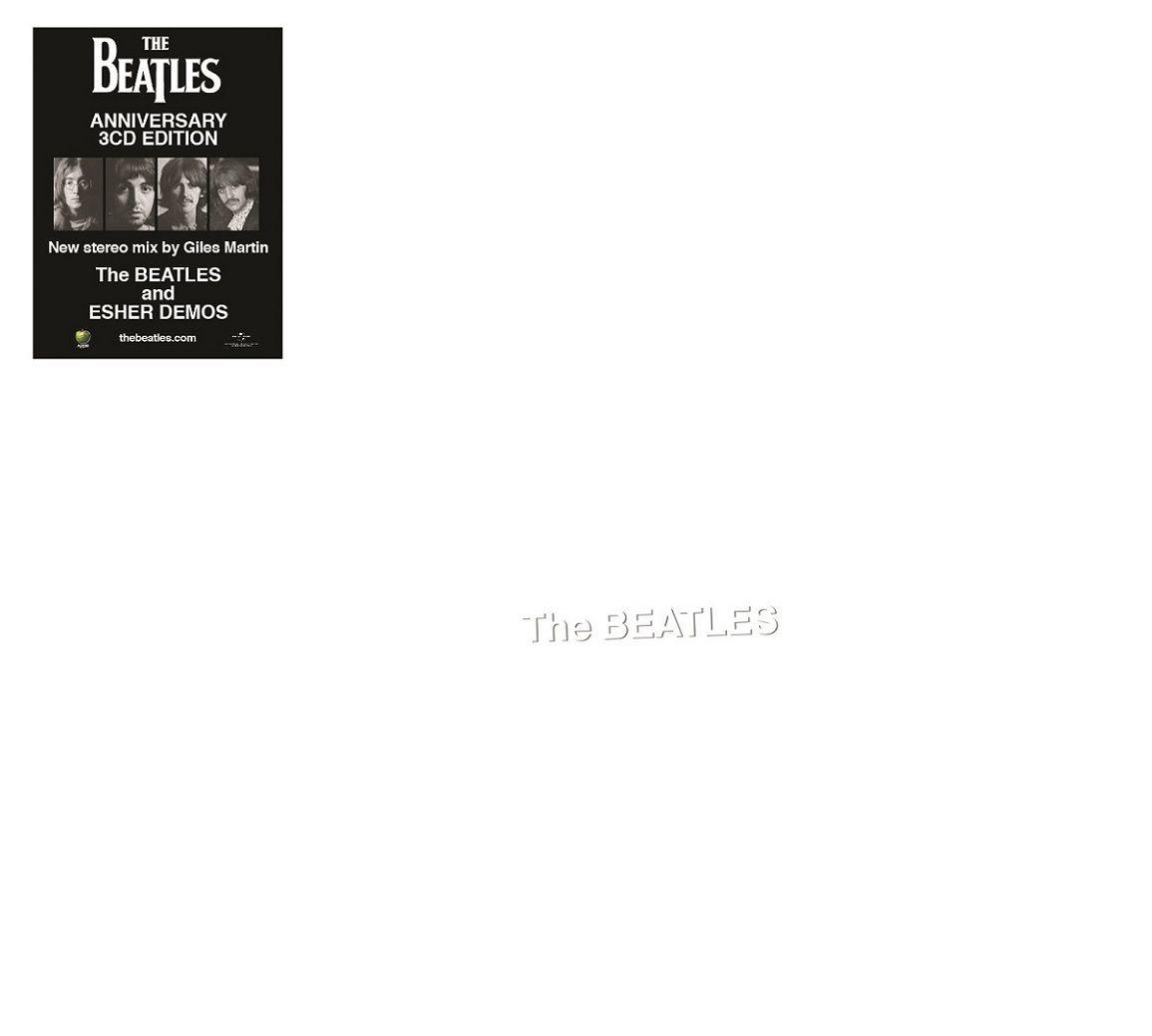 The Beatles - White Album / Deluxe 3 CDs