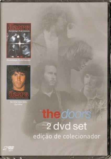 THE DOORS EDIÇAO COLECIONADOR 2 DVDS