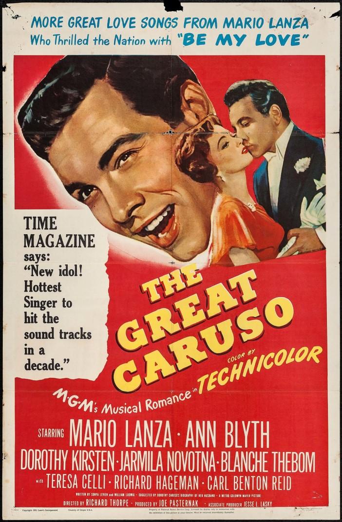 THE GREAT CARUSO DVD
