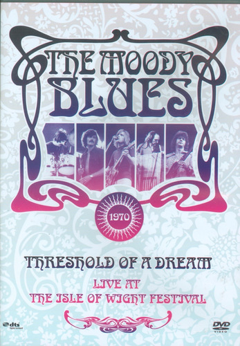 THE MOODY BLUES LIVE AT THE ISLE OF WIGHT FESTIVAL 1970 DVD
