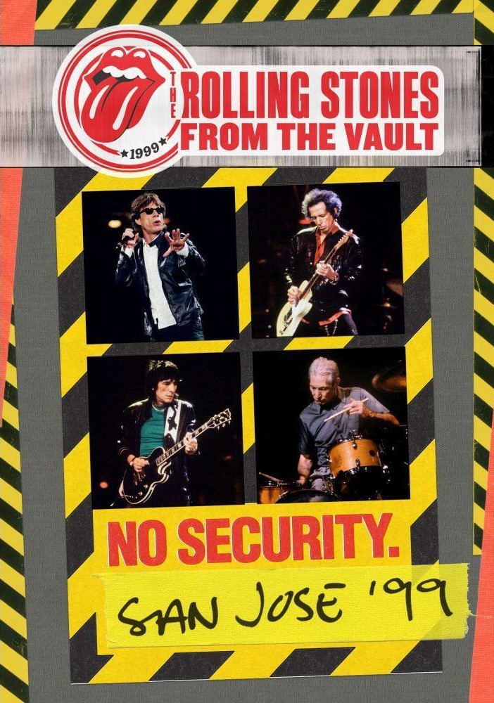 THE ROLLING STONES FROM THE VAULT NO SECURITY SAN JOSE ' 99 DVD