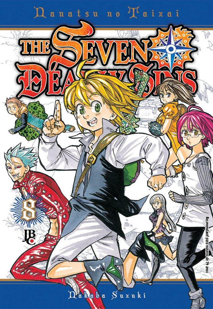 THE SEVEN DEADLY SINS VOL 8