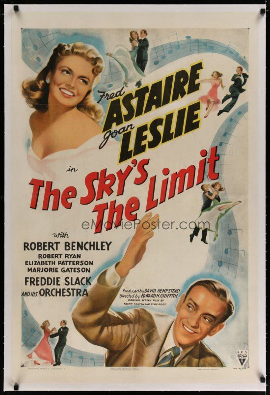 THE SKY'S THE LIMIT DVD