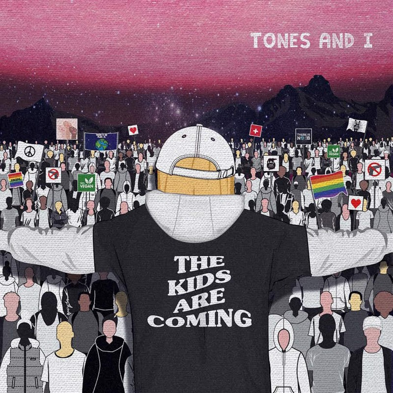 TONES AND I THE KIDS ARE COMING CD