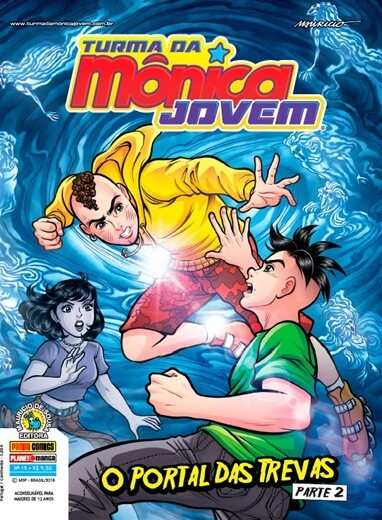 TURMA DA MONICA JOVEM SEGUNDA SERIE VOL.15